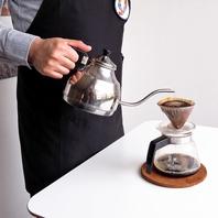 コーヒーは1杯づつドリップしています♪