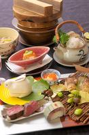 旬の食材を使用した本格懐石15000円→13500円