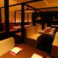 【完全個室】中~大宴会もグラッツェならソファ席で!