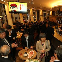 【最大で100名様】広い店内では、大人数様のパーティが実現します!