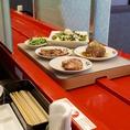 「焼肉の和民」では、お肉をはじめとした各お料理・ドリンクを『特急レーン』を使用してお客様の元へお届けいたします!
