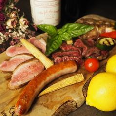 本日のお肉3種盛り合わせ