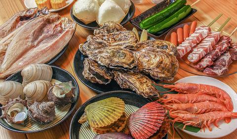 牡蠣と海鮮 食べ放題60分 ※衝撃価格!!