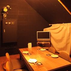 完全個室のこの部屋はあまり知られてません!ゆっくりとした時間を少人数で楽しんでいただくには、このお部屋がぴったり!一日一組限定の為、お早めにご予約お願いします。