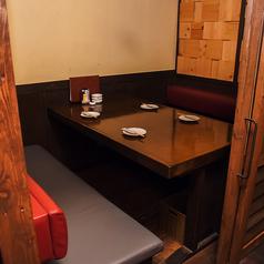 2~6名様でご利用いただける個室のテーブル席です!