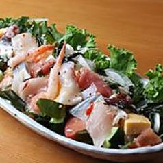 海鮮サラダ〈イタリアンドレッシング〉