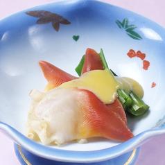 ほっき貝酢味噌