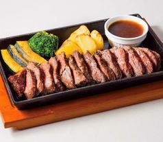 料理メニュー写真牛サガリの鉄板焼き  大サイズ