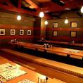 最大50名様利用可能なお座敷あり。貸切もOK!居心地の良さにこだわった開放的空間で、大人数での宴会も当店にお任せください!
