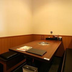 4~6名様用のテーブル席も多数ご用意!