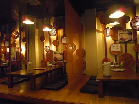 阪急桂駅で夜遅くに食事ができる貴重なスポット。メニューも豊富で食べごたえ十分!