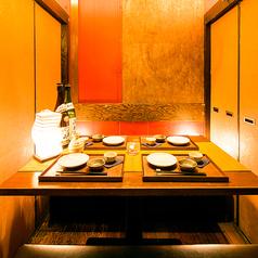 【和空間の完全個室】お勤め先でのご宴会にもお勧めな上質和空間を演出。
