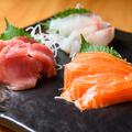 料理メニュー写真焼き魚・お造り・季節の料理
