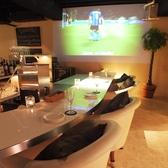大画面で楽しむサッカー観戦!!~新宿 完全個室イタリアン Ark Lounge新宿西口駅前店~