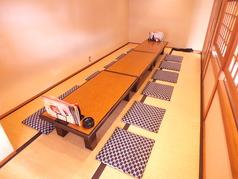 少人数宴会用の個室もございます。最大12名様まで収容可能です!