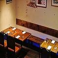 【ビストロスペース】ディナータイムにはお酒やお食事しながら喫煙もお楽しみ頂けます。(店内レイアウト2))