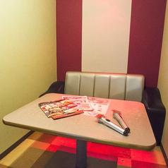 完全個室×カップルシート★デートに◎ ※写真は系列店です