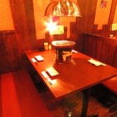 4名様テーブル席は人気の為、早めの予約がオススメです!