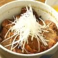 料理メニュー写真とりぼん特製豚丼