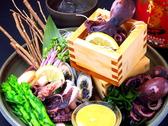 毎日田崎市場から旬のお魚が届きます!個室/せいろ蒸し/刺身/魚/肉/馬刺し/馬肉/焼き鳥/居酒屋/飲み放題/熊本/鍋/祭