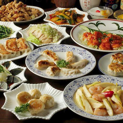 本格中華料理が食べられる東昇餃子楼!個室もあるから宴会も楽しい♪食飲放題3800円!
