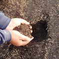 土にこだわります♪自家製堆肥・有機肥料