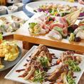 食材にもこだわった和食や新鮮なお刺身などのお料理と日本酒や焼酎などのお酒がご堪能頂ける飲み放題付の宴会コースはを多数ご用意。様々なシーンにご対応可能なコースをご用意しております。浜松での各種ご宴会の際には是非お任せください。最大で32名様迄の大人数宴会に対応が可能な完全個室のお席のご用意もございます。