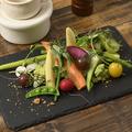 料理メニュー写真野菜ソムリエ厳選 有機野菜のバーニャカウダー