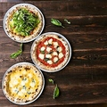 料理メニュー写真ピザは、980円~