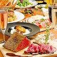『夏宴会に!!』 熟成国産牛のローストビーフコース 8品+2h飲み放題付(全60種) 5500円→5000円