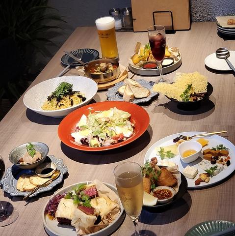 飲み放題付きご宴会コース◆4000円(税込)