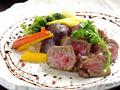 料理メニュー写真本日の厳選和牛のステーキ
