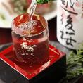 ●蔵元直送酒: プレミアム日本酒etc● :常時20種類をリザーブ
