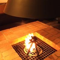 暖炉の過ごし方