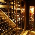 ワインが並ぶセラー