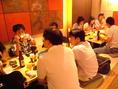 サラリーマンやOLさんに人気のお店です。鮮魚、炭焼き、九州のうまいもんを集めたバラエティに富んだお料理が自慢です。