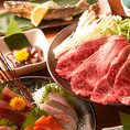 上質食材をふんだんに使用した料理を愉しむ2時間飲み放題付プランは4000円~!