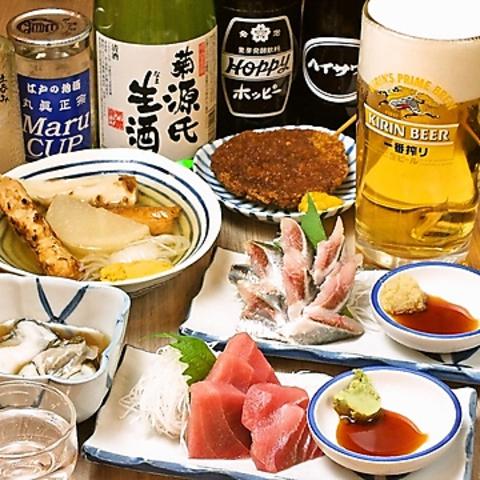 上野駅前!立ち飲みじゃない、座れる晩杯屋です。