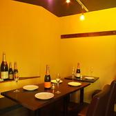 お一人様用の席もご用意しております!お一人様からご来店いただけますので、お勤め終わりに温かいご飯を食べにいらしてください♪1人席:2席/2人席~:3席