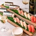 料理メニュー写真職人の握り寿司