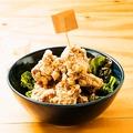 料理メニュー写真鳥カラアゲ山モリ