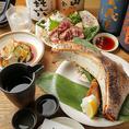 【日本酒・焼酎】逸品との相性◎日本酒や焼酎もご用意しております!