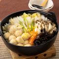 料理メニュー写真華味鶏のつくね鍋