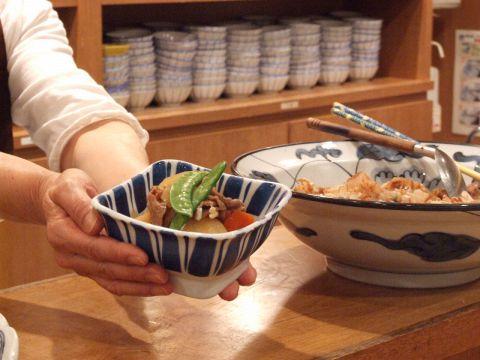 「ほっ」としたくなったら…かっぽうぎの手作り料理があなたを癒します。