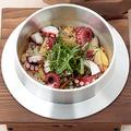 料理メニュー写真たこしそ釜めし/鯛の梅しそ釜めし