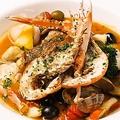 料理メニュー写真魚介と海老のブイヤ―ベース