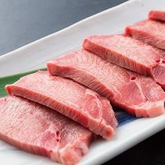 料理メニュー写真特選厚切り牛タン