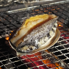 あわびの卓上地獄焼き/あわびの刺身/あわびのバター焼き 各