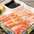 料理メニュー写真宮崎地鶏 上タタキ