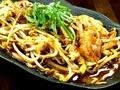 料理メニュー写真ホルモン炒め/骨付きカルビ/地鶏(天草大王)
